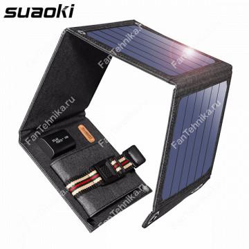 Солнечное зарядное устройство Suaoki (5В/14 Вт)