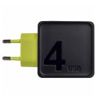 Сетевой блок питания Rock Sugar Travel Charger (4 USB, 4A)