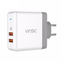 Зарядное устройство Vinsic VSCW215 Quick Charge 3.0