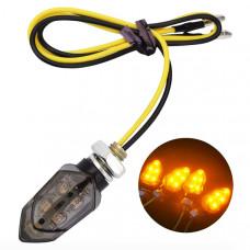 Светодиодный поворотник для мотоцикла 5хLED