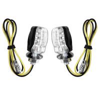 Светодиодные поворотники для мотоцикла 6хLED (2 шт)