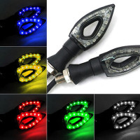 Светодиодные поворотники для мотоцикла (2 шт)