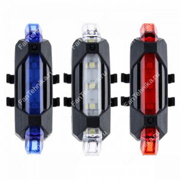 Светодиодный USB фонарь для велосипеда