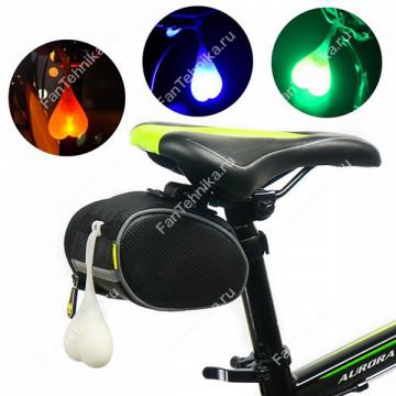 Задний габаритный фонарь для велосипеда (сердечко)