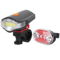 Фара и фонарь для велосипеда (комплект)